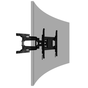 PMD600QP Aluminum 32-88 inch Full-motion Curved and Flat Panel TV Mount
