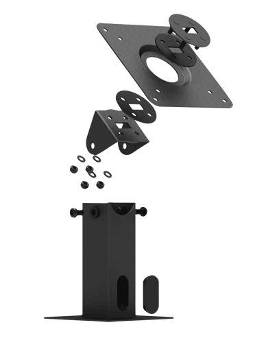 IPA-1 Rotating 360 and tilting tablet mount stand