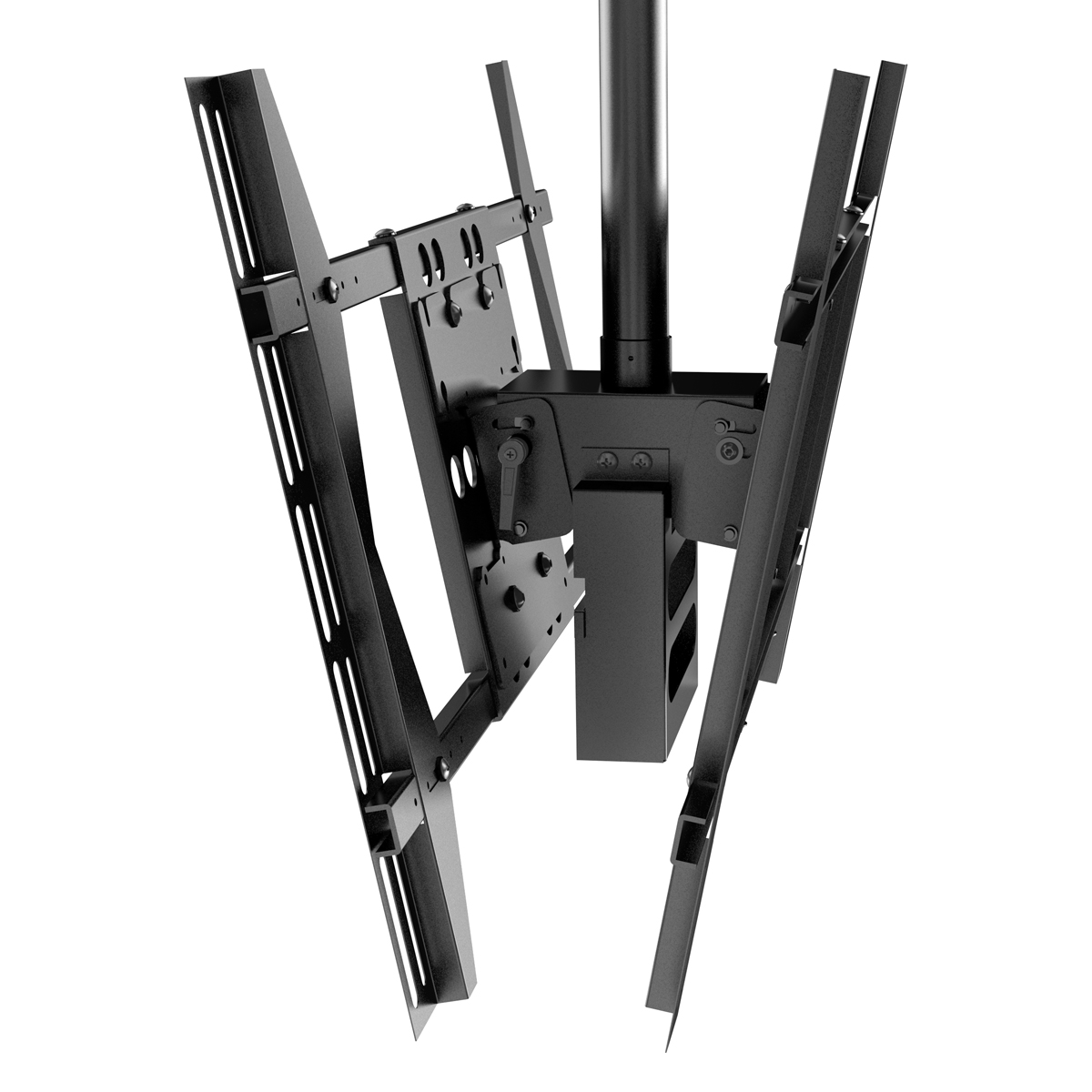 P52-B Best sellers fit for 24 to 37 inch double side plasma tv ceiling bracket with spliter box