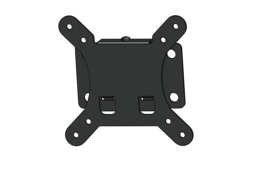F26 Simple fixed fits for 10 to 26 inch tv bracket made in china
