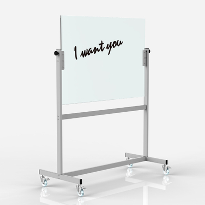 GB-04 Good Writing 47.75″ x 35.75″ Easy Dry Erease mobile white board