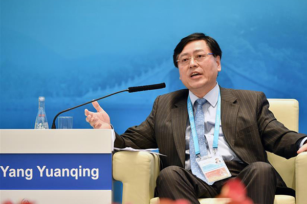 Yang Yuanqing, CEO of Lenovo Group, world's largest PC maker