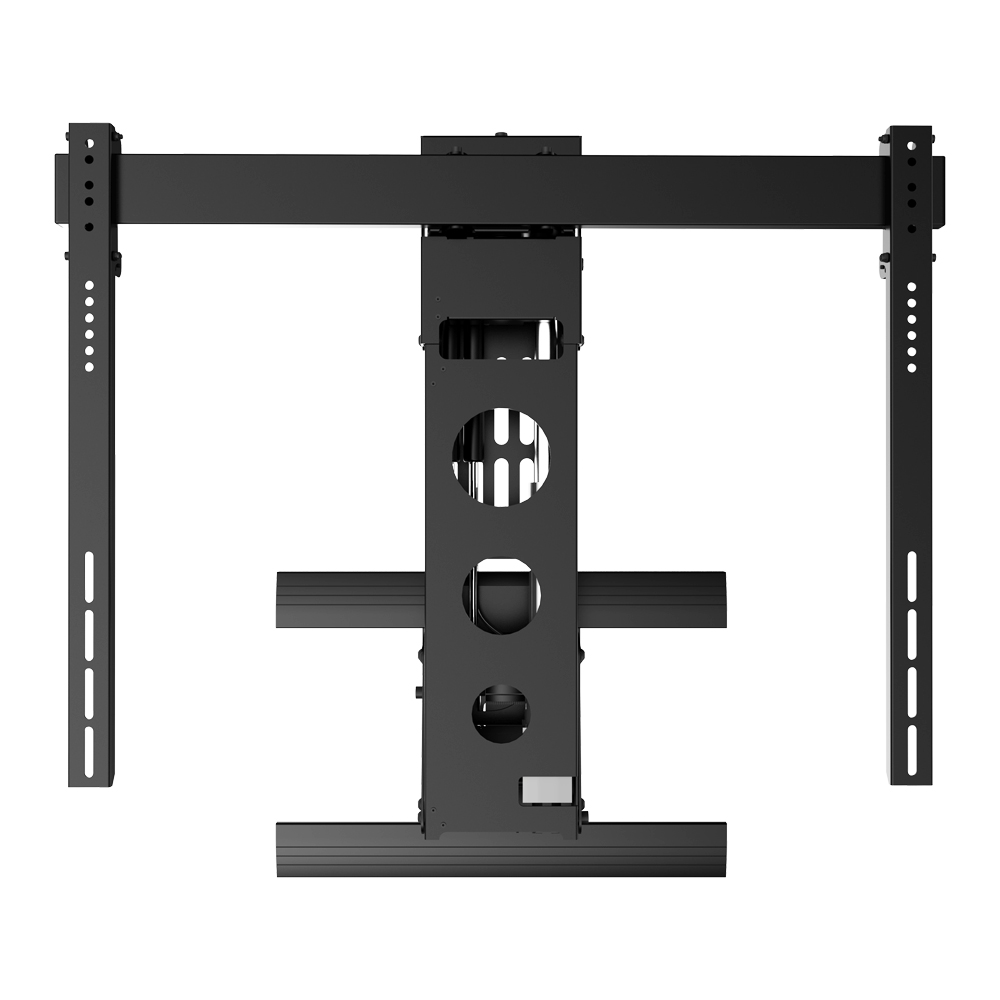 Remote Control Electric motorized Retractable adjustable put down full motion lcd tv wall mount
