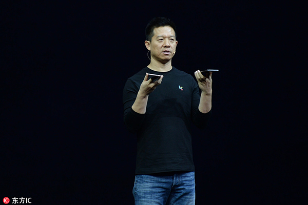 Jia Yueting, CEO of LeEco, one of the biggest online video companies in China